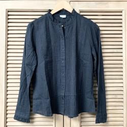 Chemise boutonnée noir CH002 - C'est Beau la Vie