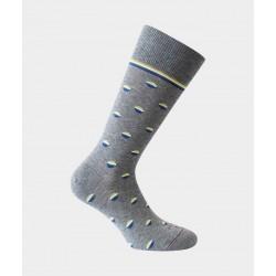 Chaussettes à pois 34932 Gris - Labonal