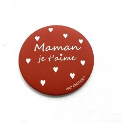 Magnet Maman je t'aime - Lulu création