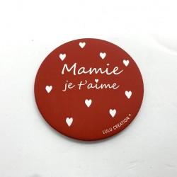 Magnet Mamie je t'aime - Lulu création