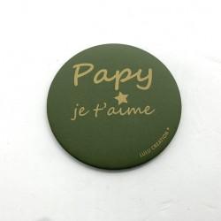 Magnet Papy je t'aime - Lulu création