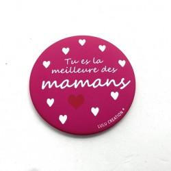 Magnet Tu es la meilleure des mamans - Lulu création