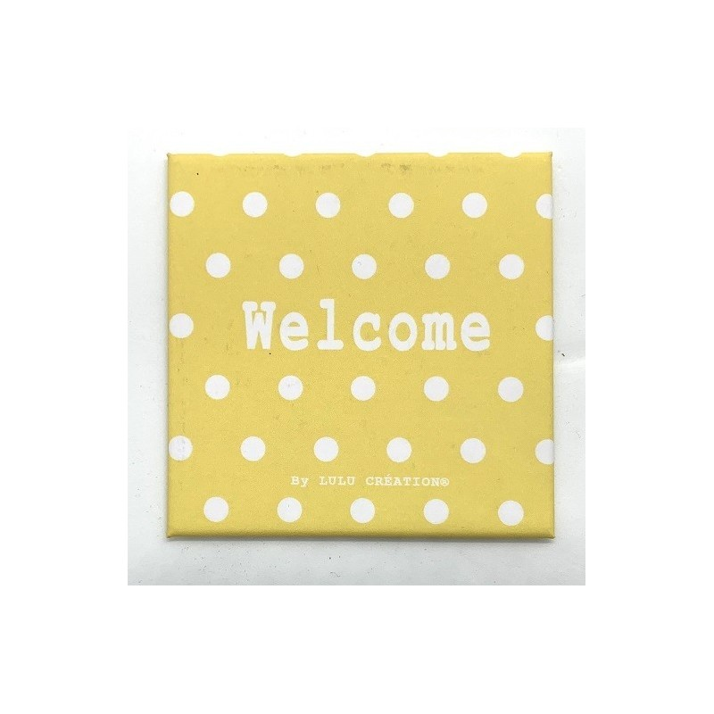 Magnet Welcome - Lulu création