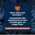 Bon d'Achat Jaïnès - Spécial soutien commerce de proximité