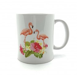 Mug - Flamant rose