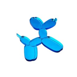 Broche Chien Ballon Bleu ciel - Monolama