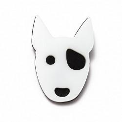 Broche Bull Terrier - Monolama