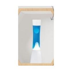 Lampe à lave XL1756 Bleu 40cm - I-Total
