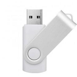 Clé USB - Blanche