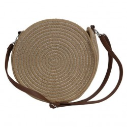 Sac rond beige PALERMO - The Moshi