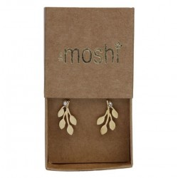 Boucles d'oreilles CECILIA Gold - The Moshi