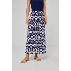 Jupe longue NAPI613 Bleu -...