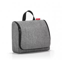 Toiletbag XL Twist Silver -...