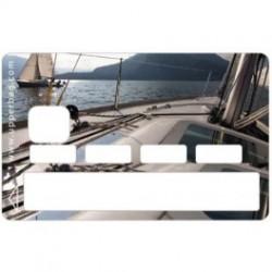 Sticker CB Voilier - Upper&Co