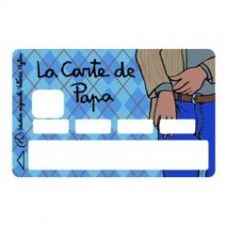Sticker CB La Carte de Papa...