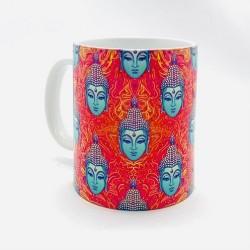 Mug -  Namaste rouge -...