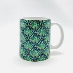 Mug -  Paon vert - Jaïnès & Co