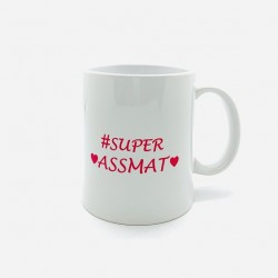 Mug -  Super Assmat -...