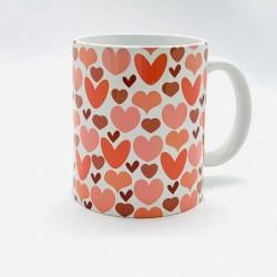 Mug - Coeur seventies -...