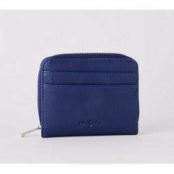 Porte-monnaie bleu BOSA112...