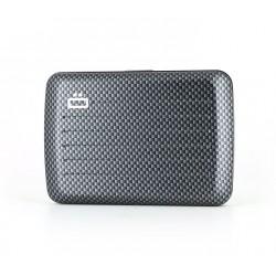 Porte-cartes RFID Carbone -...