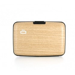 Porte-cartes RFID Bambou -...