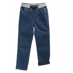 Pantalon denim CLEMO - Elle...