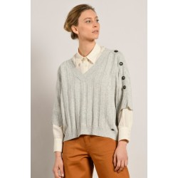 Tricot TRIBORD-510 Gris...