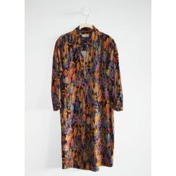 Robe chemise imprimée B3219...