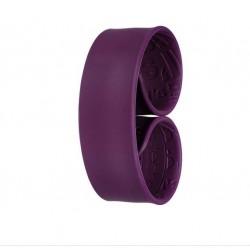 Bracelet ADDICT Prune -...