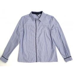 Chemise rayée bleu COCOH -...