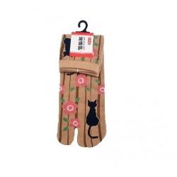 Chaussettes japonaises CHAT...