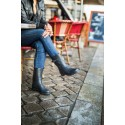 Demi bottes croco MAT - Be Only