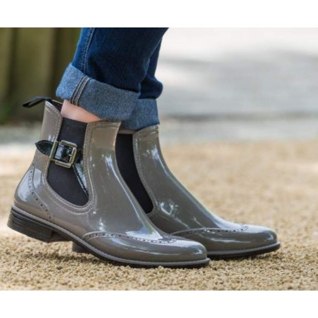 Bottines de pluie APOLINE Taupe - Be Only
